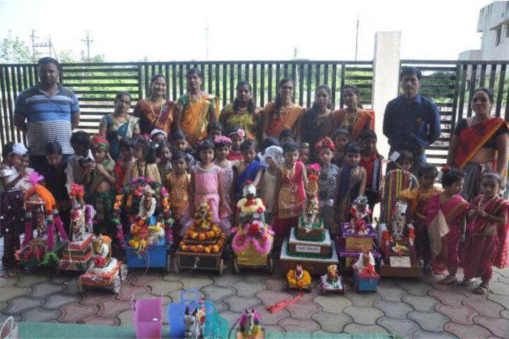 Balaji Convent Junior College-Festival Celebration