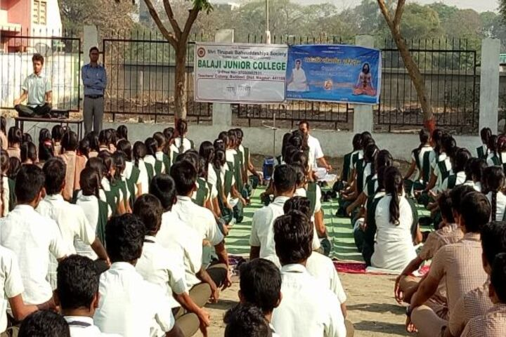 Balaji Convent Junior College-Yoga