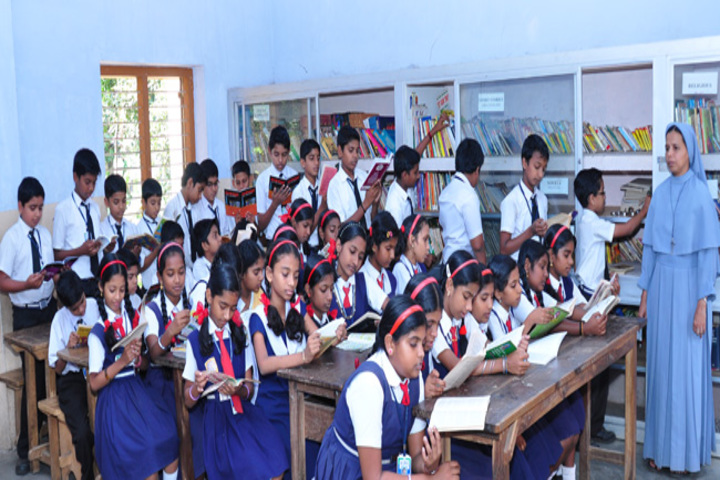 Holy Angels English Medium Higher Secondary School-Classroom