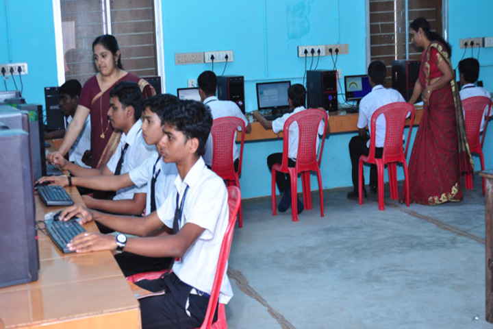 Holy Angels English Medium Higher Secondary School-IT Lab