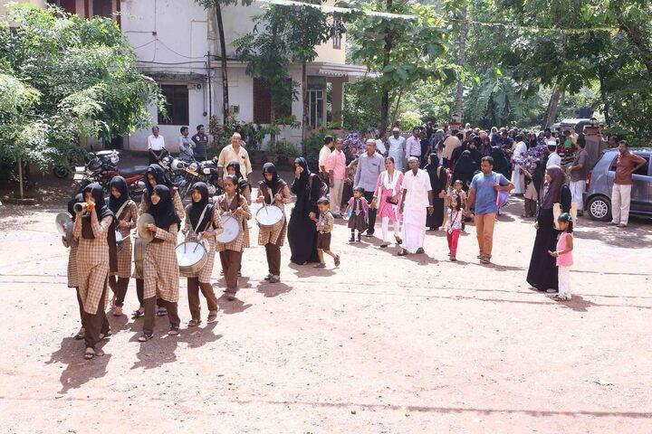 Thajul Uloom English Medium Higher Secondary School-First Day