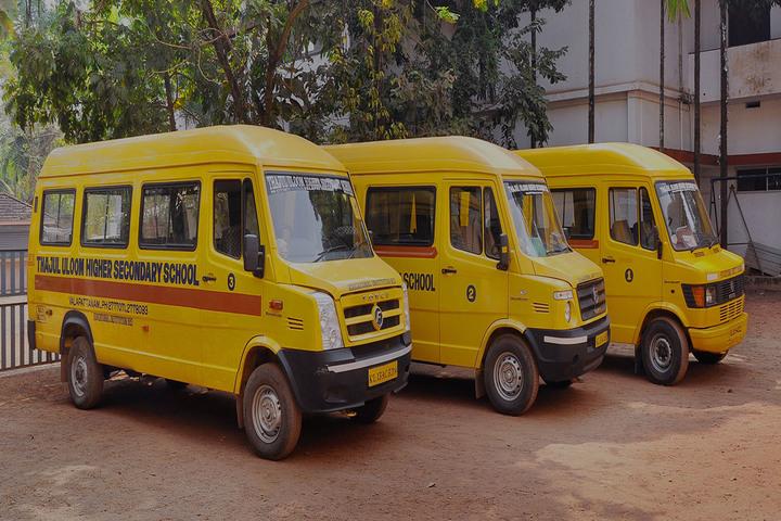 Thajul Uloom English Medium Higher Secondary School-Transport