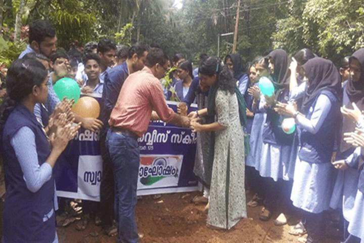 Nochat Higher Secondary School-NSS Activities
