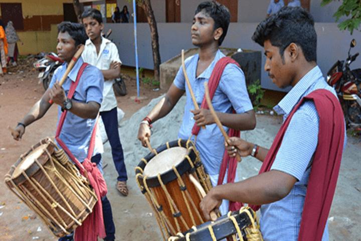 Nochat Higher Secondary School-Onam Celebration