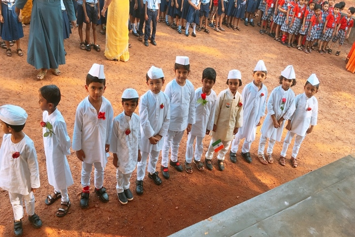 Venerini English Medium Higher Secondary School-Childerns  Day Celebration