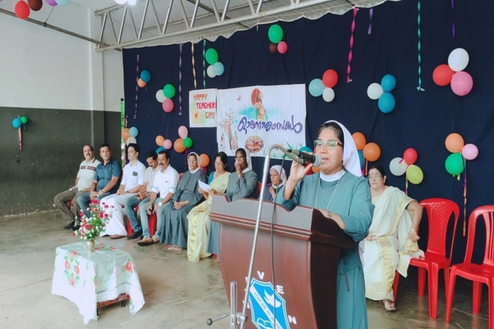 Venerini English Medium Higher Secondary School-Onam Celebration