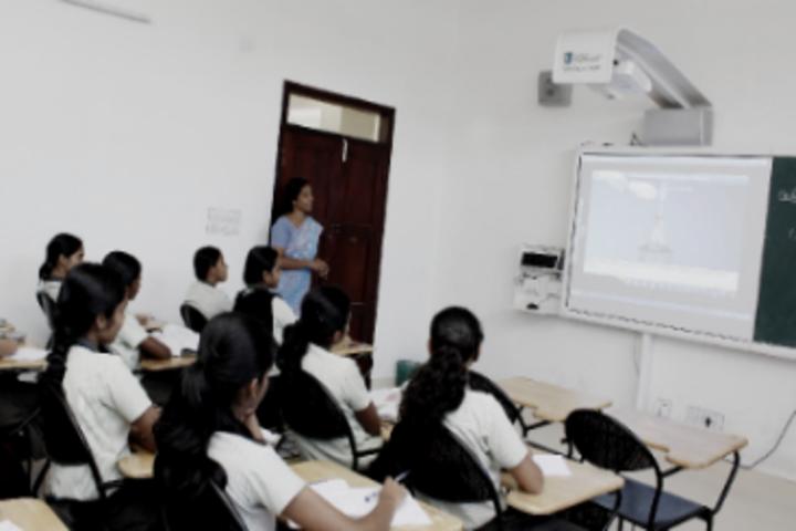 De Paul English Medium Higher Secondary School-Classroom
