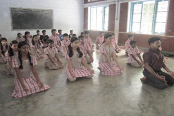 De Paul English Medium Higher Secondary School-Yoga Day