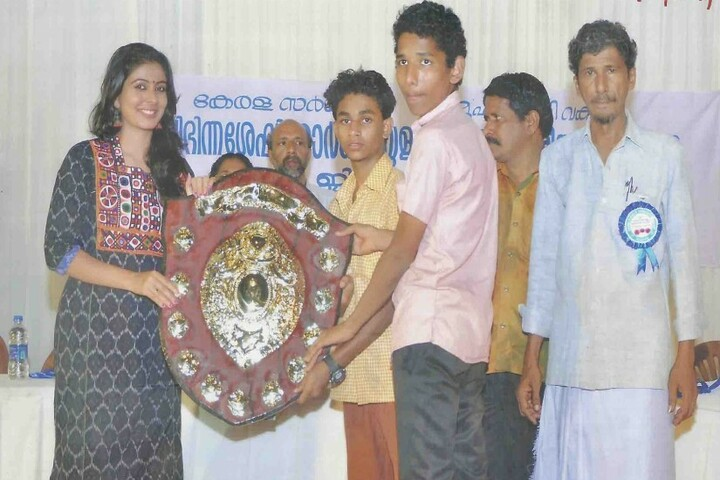 Asha Bhavan Higher Secondary School For The Deaf-Prize Distribution