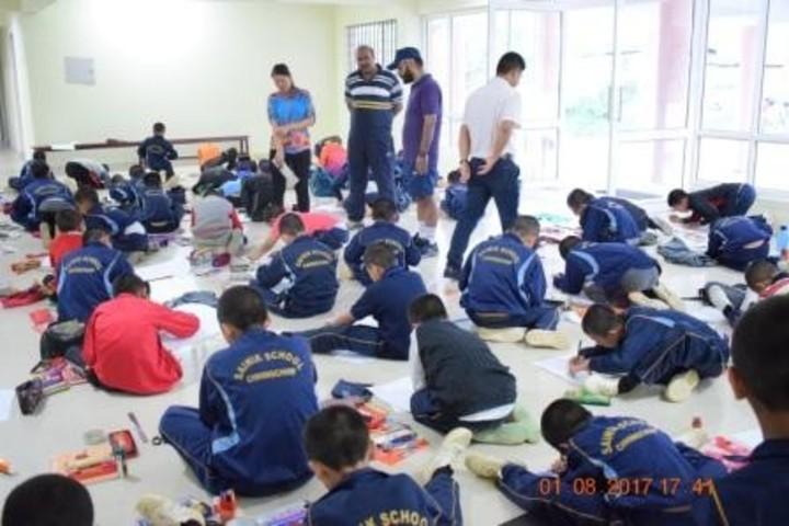 Sainik School-Drawing Competition