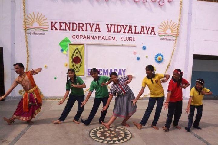 Kendriya Vidyalaya-Kuchipudi Dance