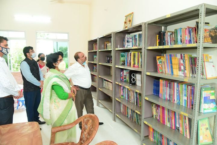 Creative Minds International School - library