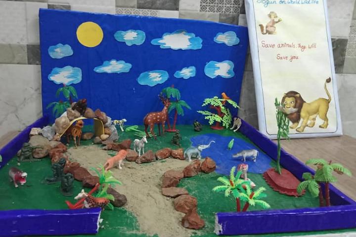 Narayan world school -Art and craft