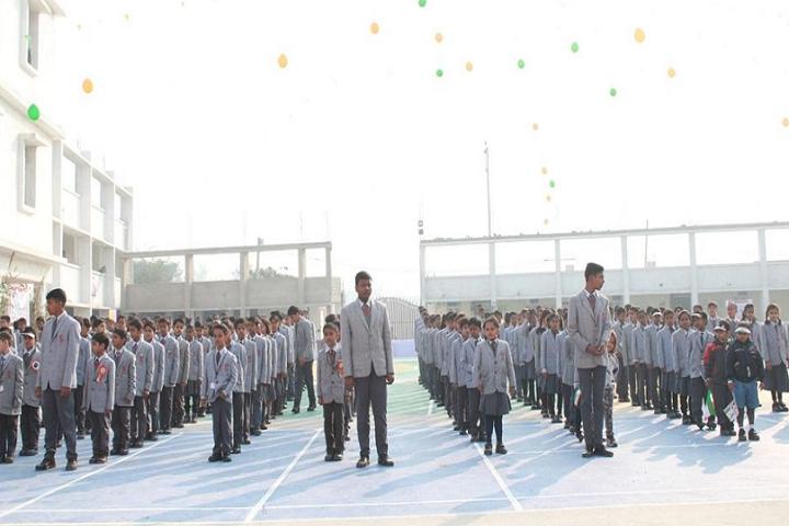 Narayan world school-Assembly