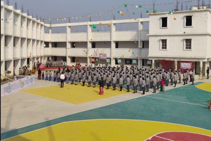 Narayan world school-School building