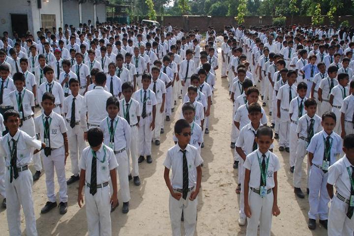 Delhi Public School-Morning assembly