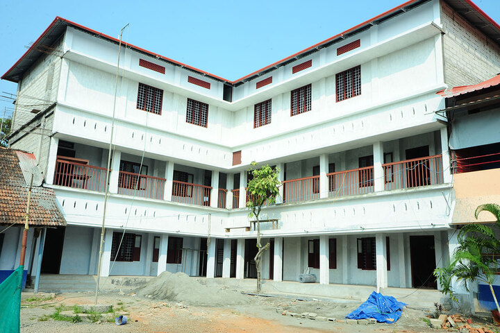 A J John Memorial Higher Secondary School-Campus View
