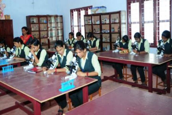 A J John Memorial Higher Secondary School-Lab