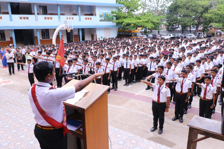St Josephs Higher Secondary School-Assembly