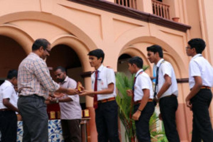 St Josephs Higher Secondary School-Exam Topper