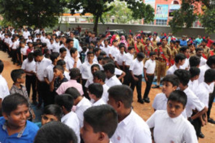 St Josephs Higher Secondary School-Welcoming Freshers