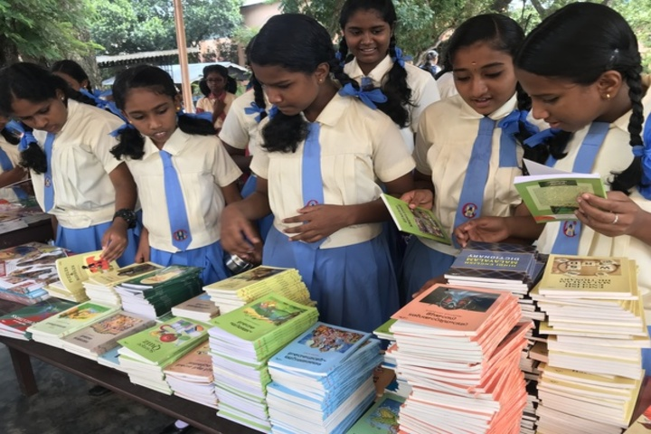 Holy Angels Convent Higher Secondary School-Book Fair