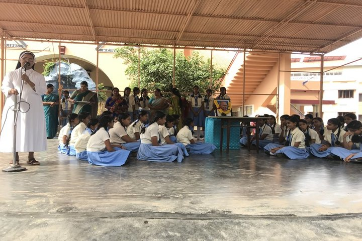 Holy Angels Convent Higher Secondary School-Gandhi Jayanthi