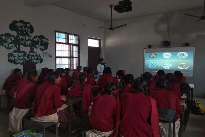 Government Girls Senior Secondary School - Smart Class