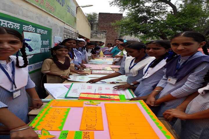 Government Girls Senior Secondary School - Chart Presntation