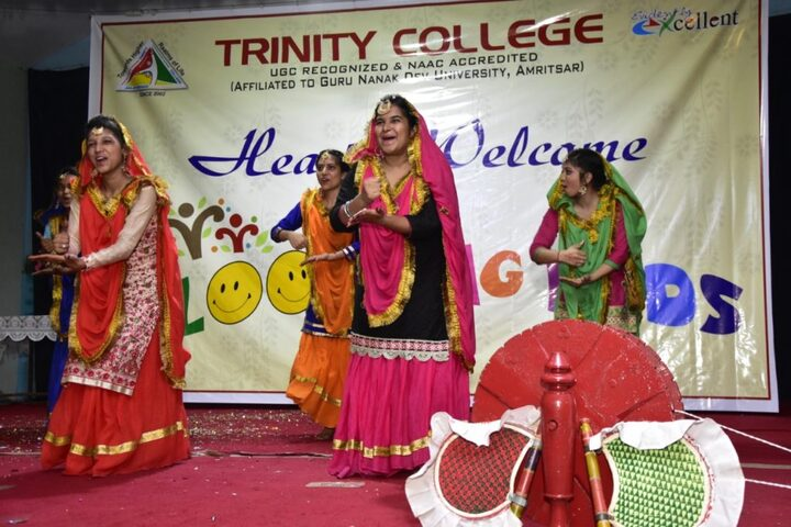 Trinity College- dance activity