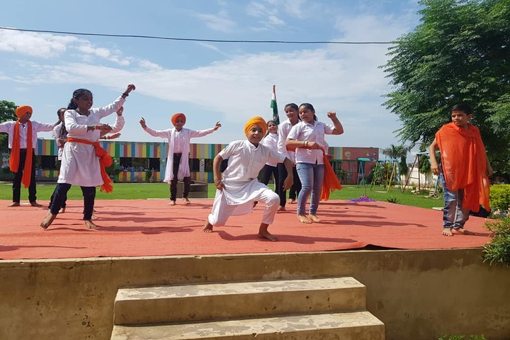 Guru Tegh Bahadur Public School- Dance Activity