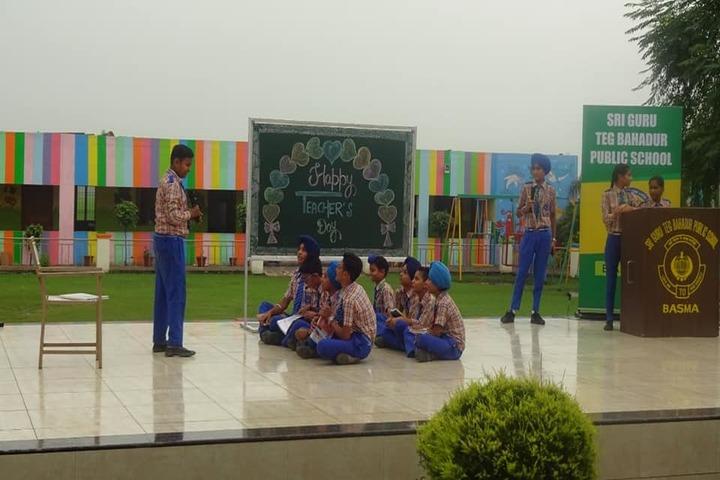 Guru Tegh Bahadur Public School- Drama