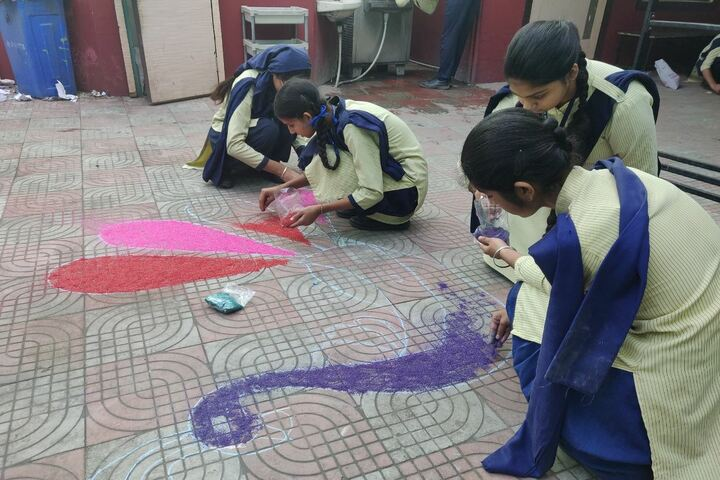 G.T.B. Mission Senior Secondary School- Drawing Activity