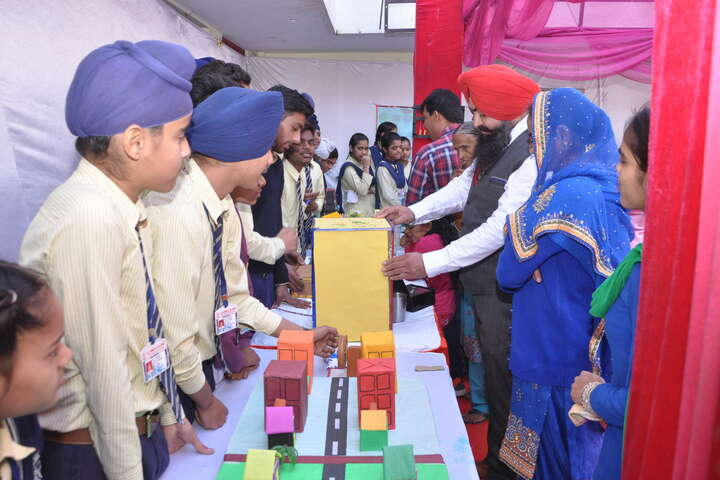 G.T.B. Mission Senior Secondary School- Science Exhibition