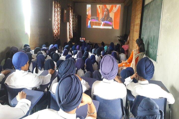 Sant Ajaib Singh Khalsa Public School- Projection Room