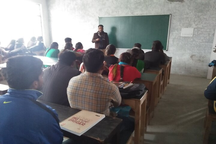 S.S.D. College- Classroom