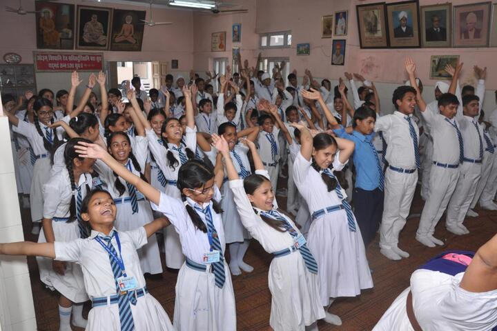 Arya Model Senior Secondary School- Yoga