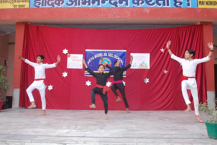Arya Model Senior Secondary School- dance