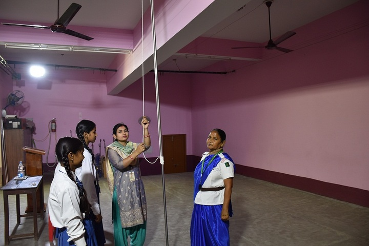 Carmel Girls Inter College-Scouts and Nss