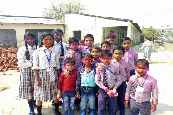 Bhuvneshwari Inter College-Holi Activity