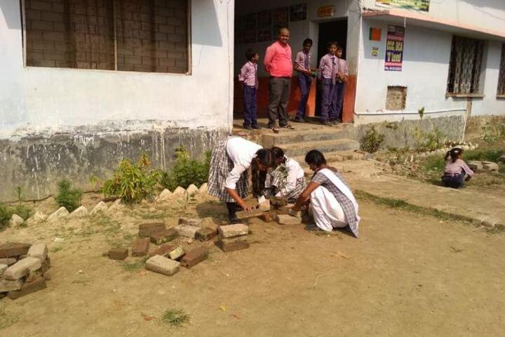 Bhuvneshwari Inter College-Tree Planting