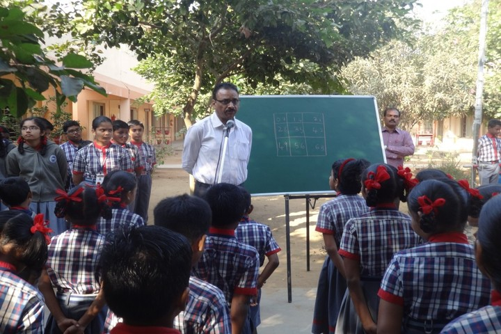Kendriya Vidyalaya-Maths Day Celebrations