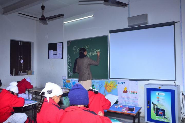 Dashmesh Heritage Public school-Digital Classroom