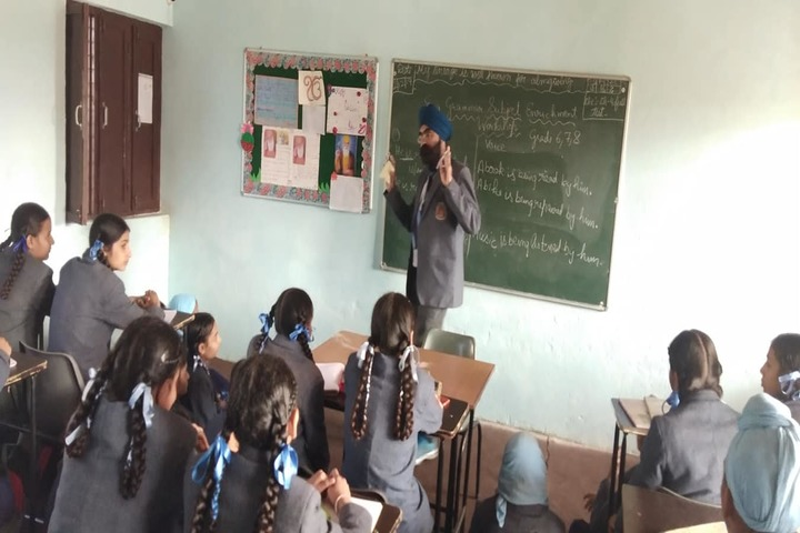 Dashmesh Heritage Public school-Classroom