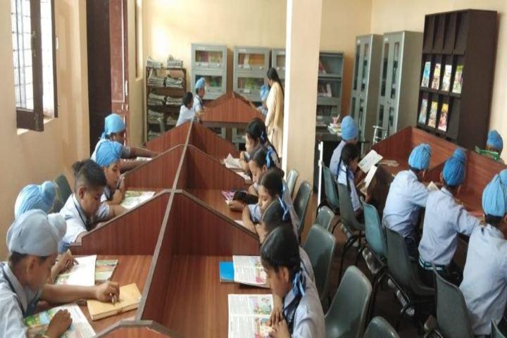 \Dashmesh Heritage Public school-Library