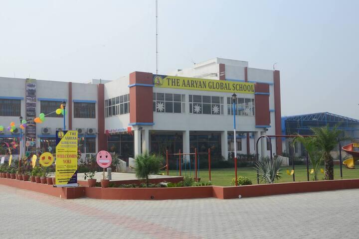The Aaryan Global School-Building