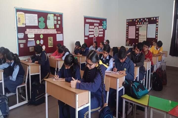 The Aaryan Global School-Classrooms