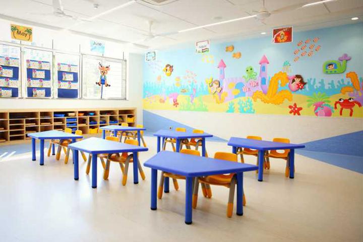 Chatrabhuj Narsee School-Classroom
