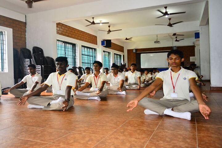 Global Public School Brookes-Yoga Activity