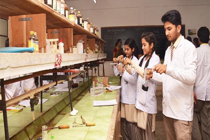 Wesleyan English Medium Higher Secondary School-Chemistry Lab
